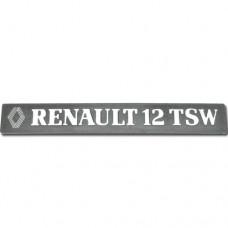 Arka yazı ( RENAULT 12 TSW )