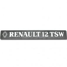 Arka yazı (RENAULT 12 TSW ) bantlı