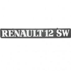 Arka yazı ( RENAULT 12 SW)