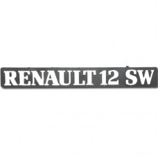 Arka yazı ( RENAULT 12 SW ) bantlı