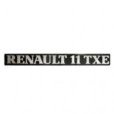 Arka yazı ( RENAULT 11 TXE )
